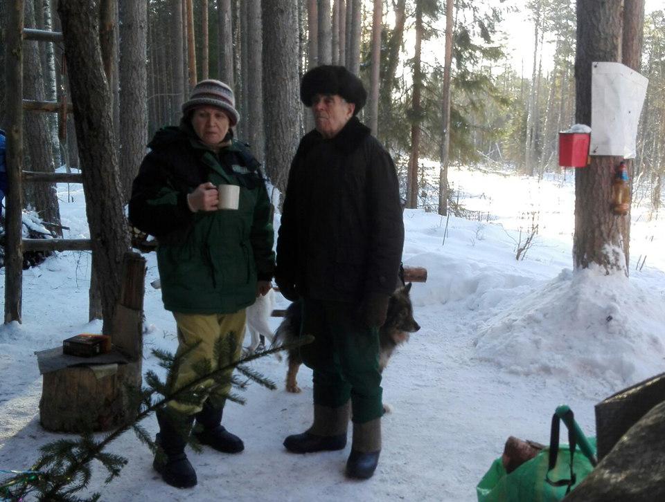 "В лагере ""сунских партизан"". Фото: Инна Кондракова"