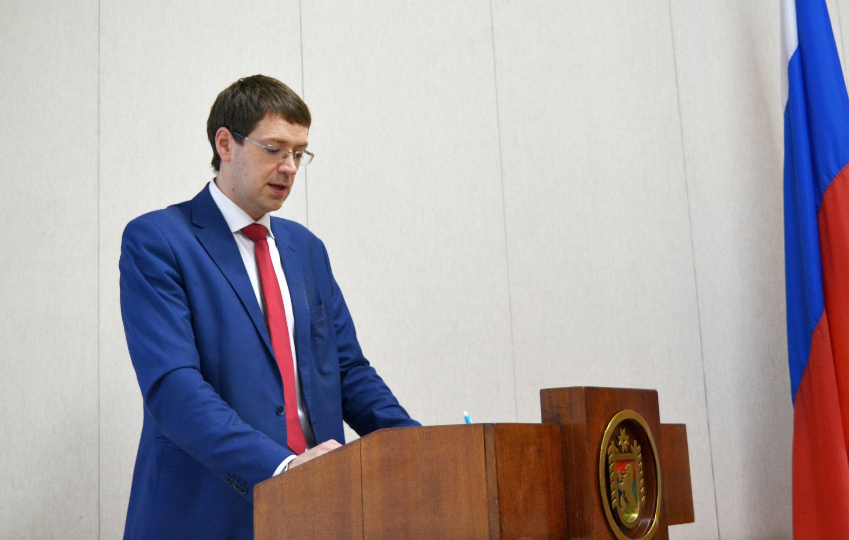 В докладе Романа Голубева все выглядело гладко. Фото: Алексей Владимиров
