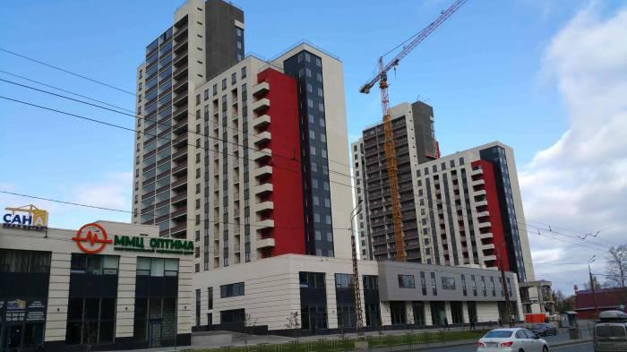 Жилой комплекс, построенный Саной на улице Чапаева в Петрозаводске. Фото: vk.com