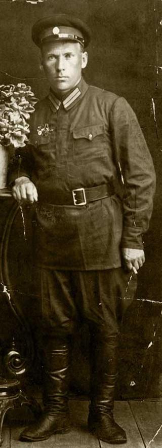 Степан Спиридонович Туоми, 1938 г. Фото из семейного архива