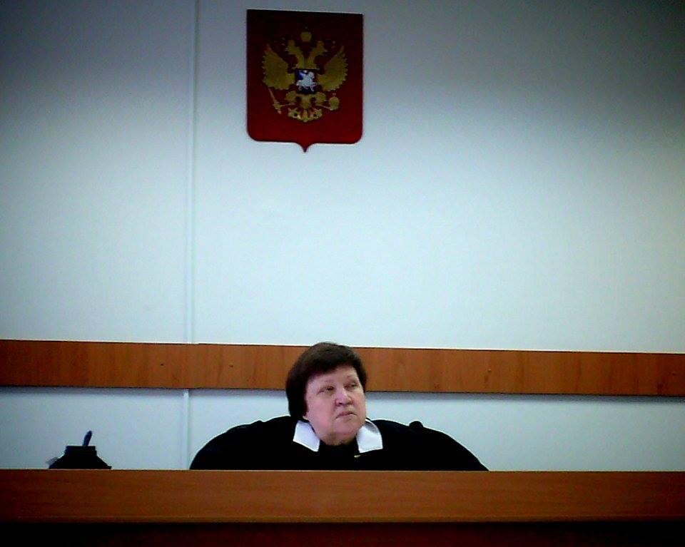 Судья Екатерина Степанова. Фото: Валерий Поташов