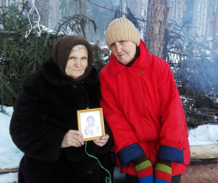 Защитники Сунского бора. Фото: Инна Кондракова