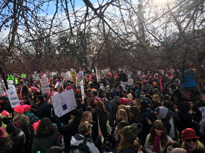 Женский марш против Трампа в США. Фото: facebook.com