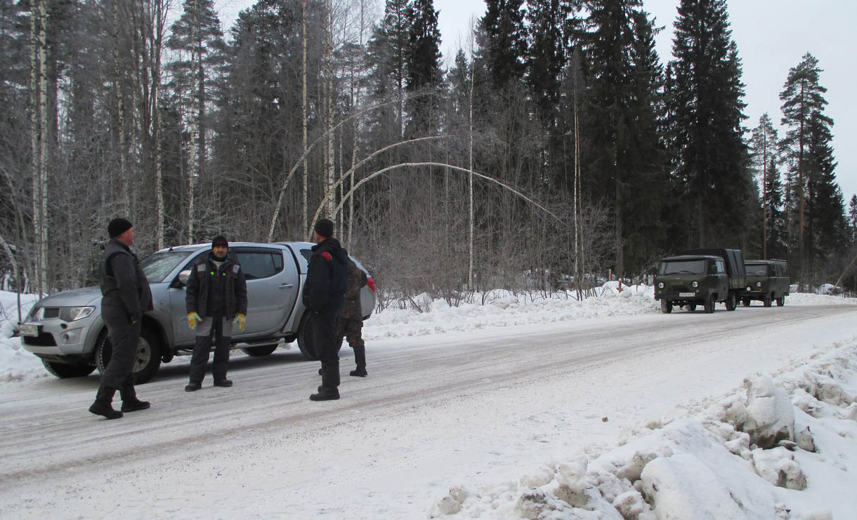 На экоактивистов устроили настоящую облаву. Фото: openbereg.ru