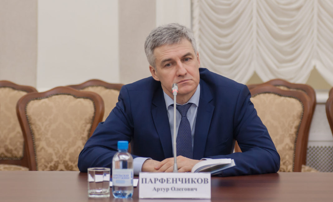ВРИО главы Карелии Артур Парфенчиков. Фото: Игорь Подгорный