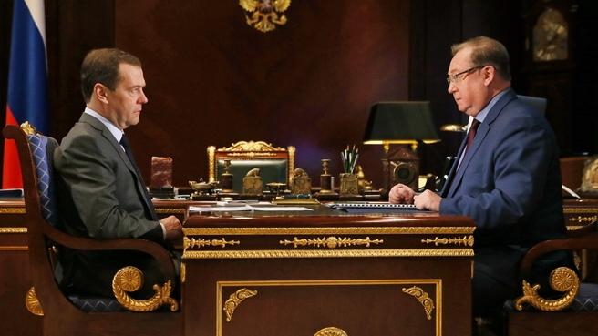 Дмитрий Медведев и Сергей Степашин. Фото: правительство.рф