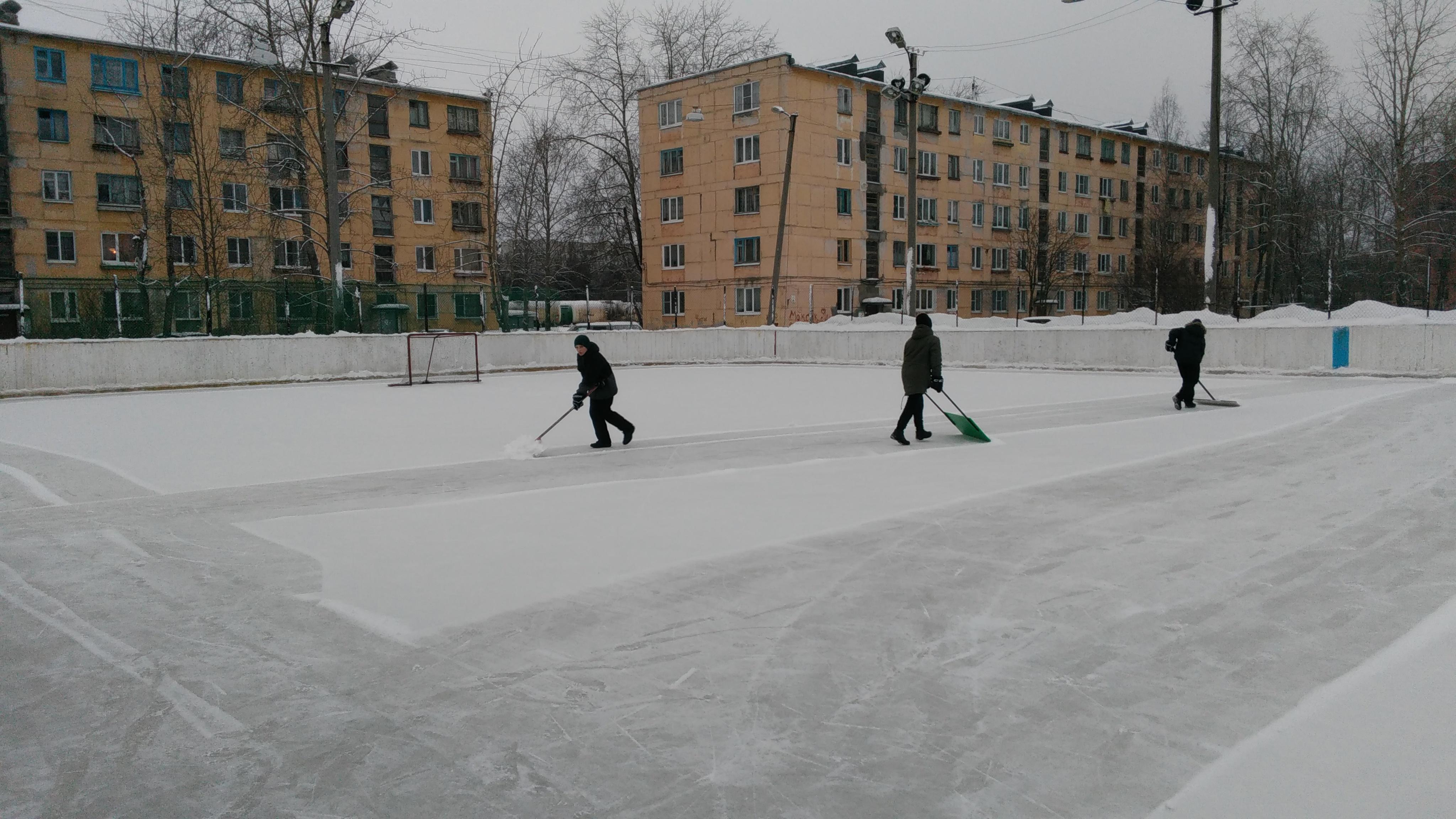 О Ледовом дворце юным сегежским хоккеистам приходится только мечтать. Фото: Наталья Соколова