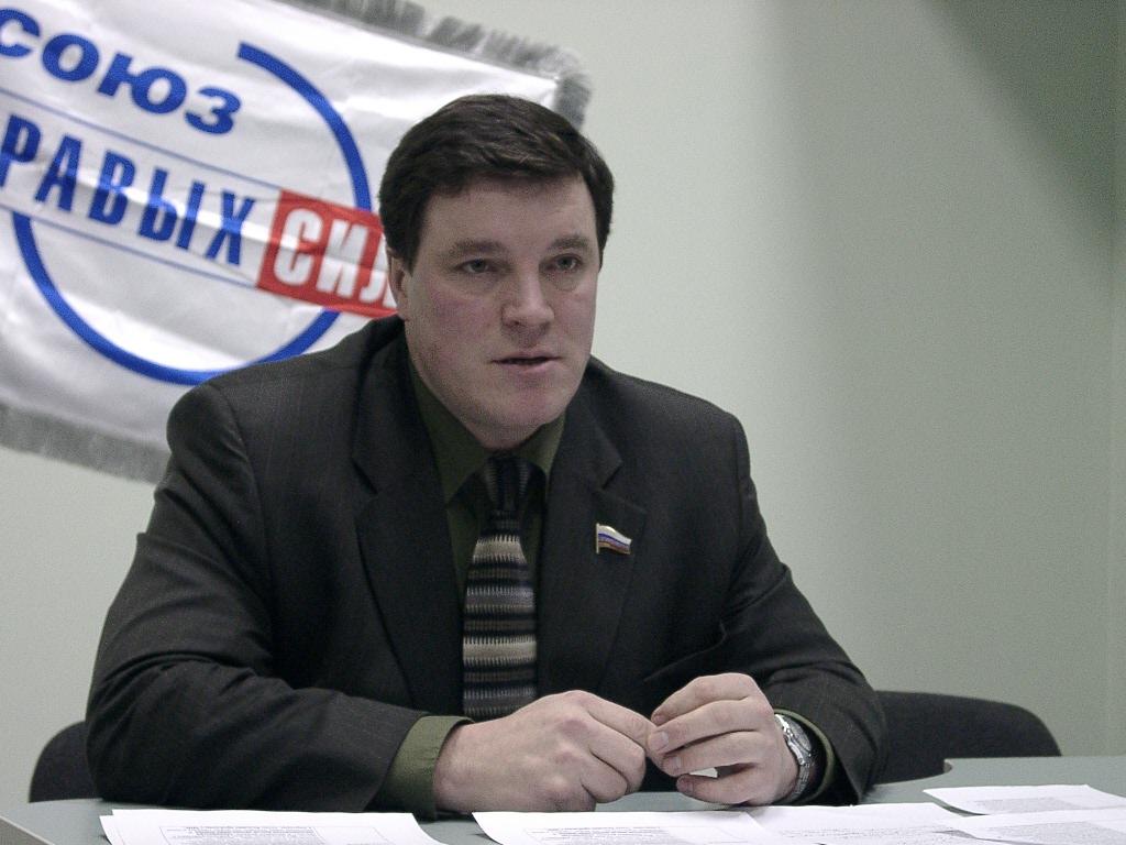 Артур Мяки был депутатом Госдумы от Союза правых сил. Фото: Губернiя Daily