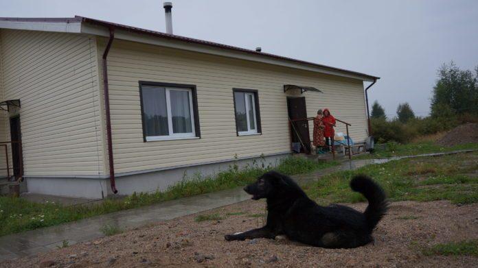 Новый дом в деревне Вокнаволок. Фото из личного архива