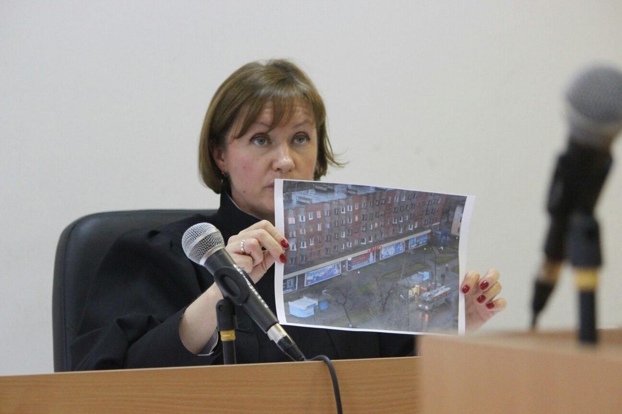 Во время судебного разбирательства. Фото: Сергей Мятухин