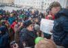 Виталий Флеганов на митинге против коррупции. Фото: Игорь Подгорный