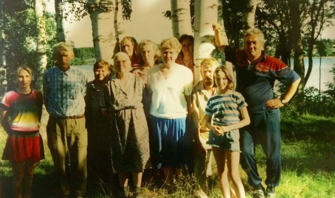 Семье фронтовика придется забыть о бане на берегу Сямозера? Фото из семейного архива