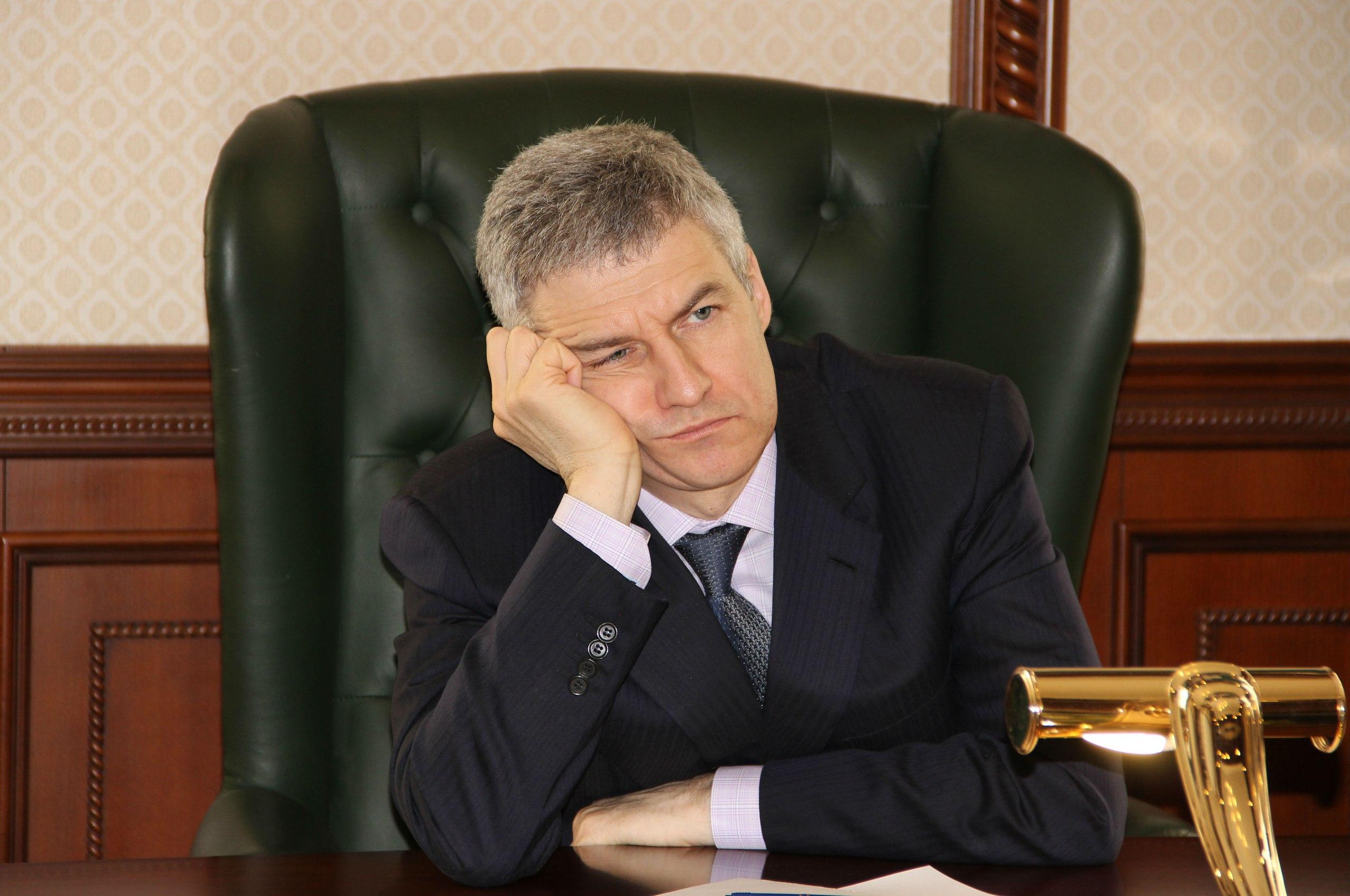 Временно исполняющий обязанности главы Карелии Артур Парфенчиков. Фото: Черника
