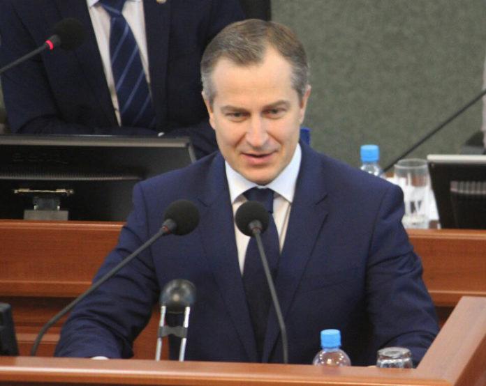 Парламент Карелии утвердил кандидатуру Александра Чепика в должности премьер-министра республики. Фото: Сергей Мятухин