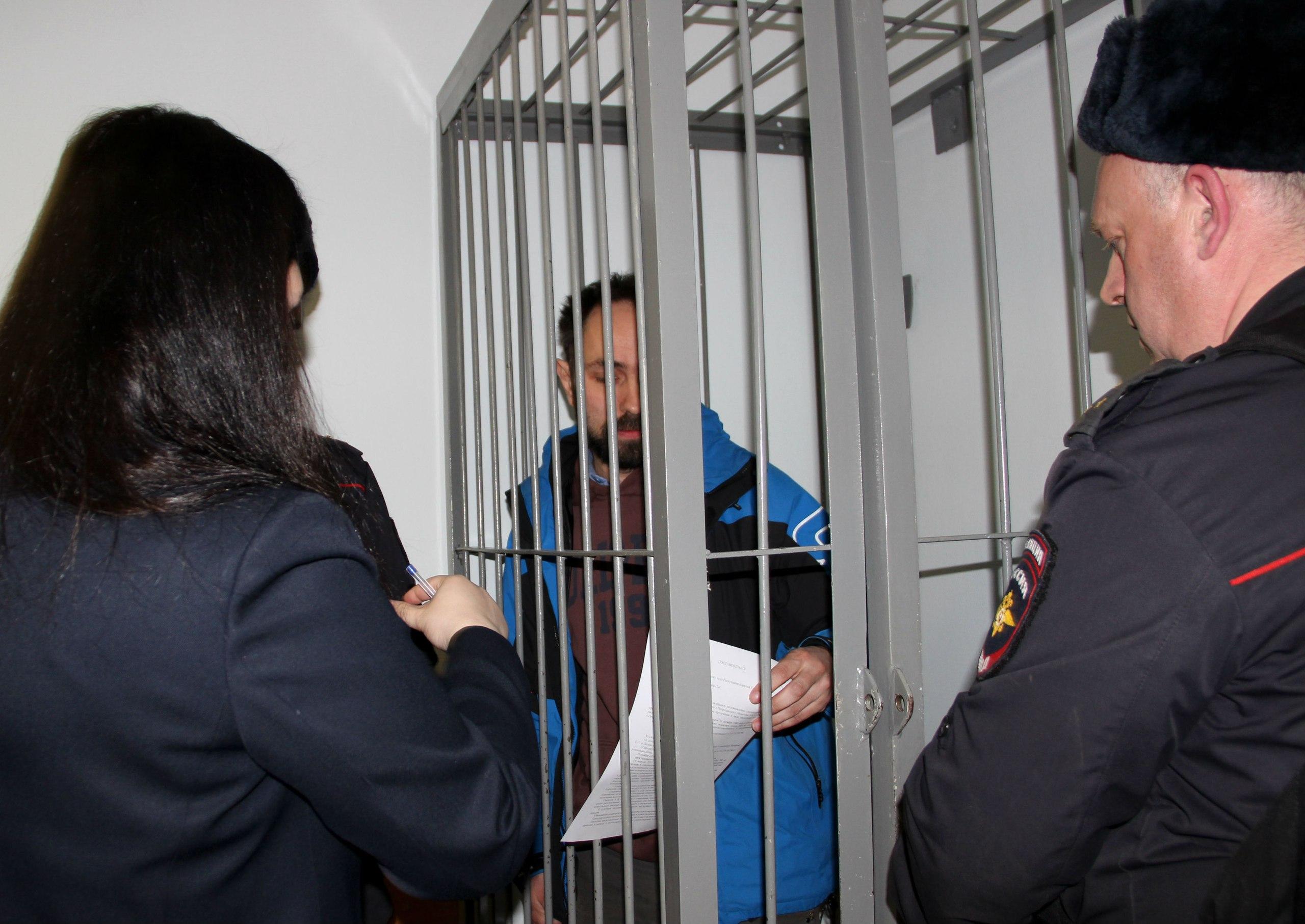 Алексей Гаврилов в суде. Фото: Илона Радкевич