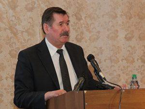 Глава районной администрации Владимир Карпенко. Фото: gov.karelia.ru