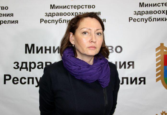 Новый министр здравоохранения Карелии Ольга Лазаревич. Фото: Илона Радкевич