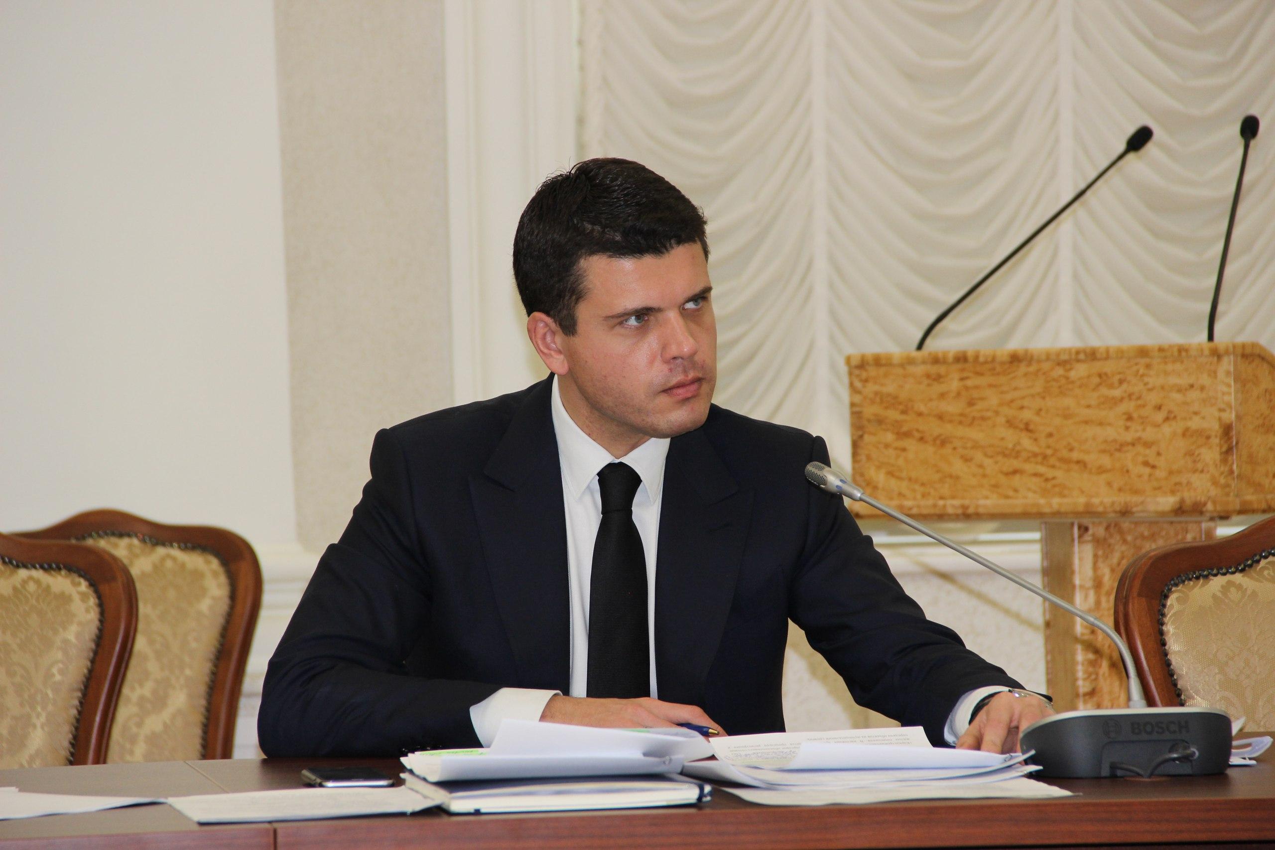 Министр Матвиец. Фото: Илона Радкевич