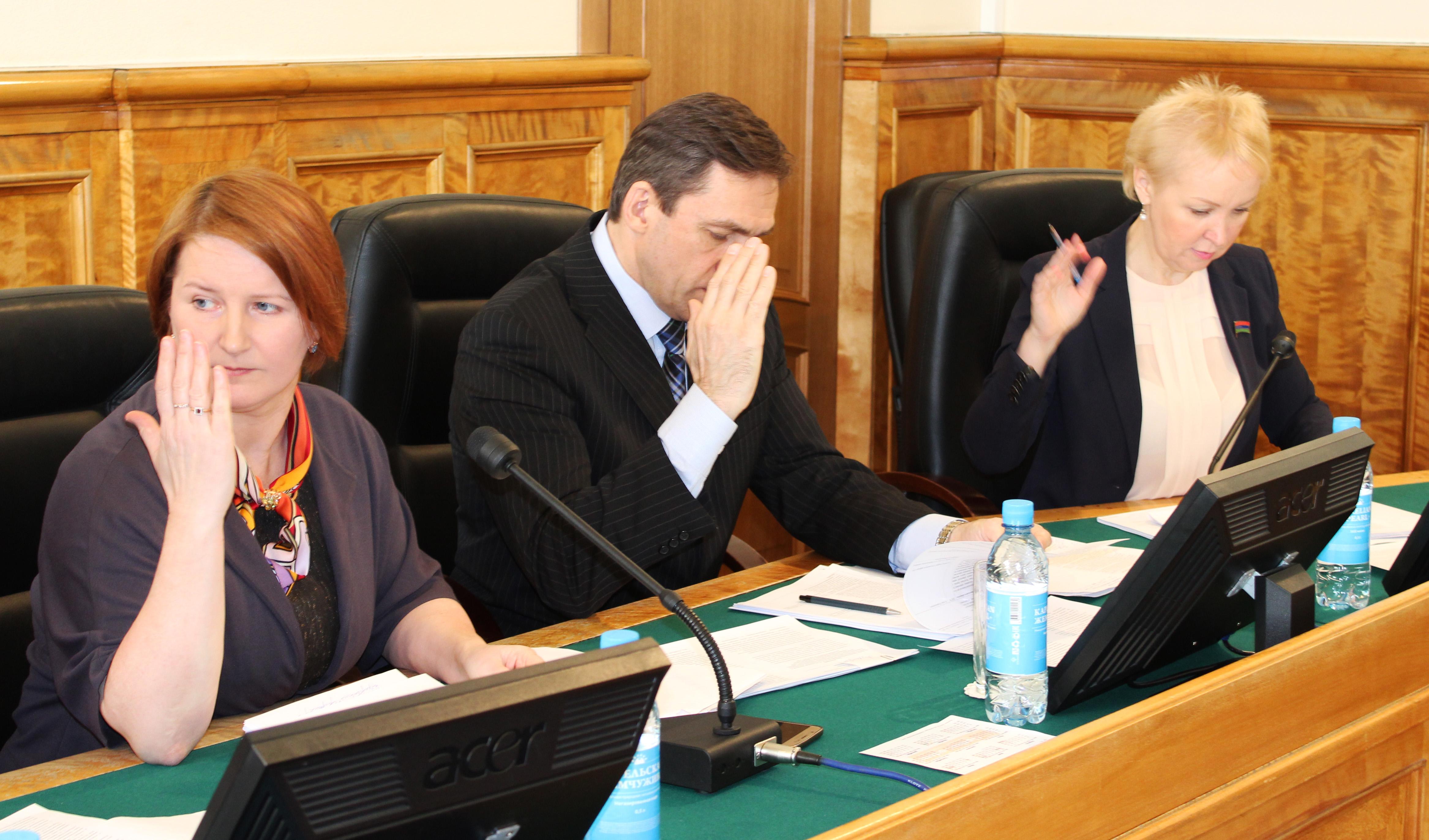 На заседании комитета. Фото: Валерий Поташов