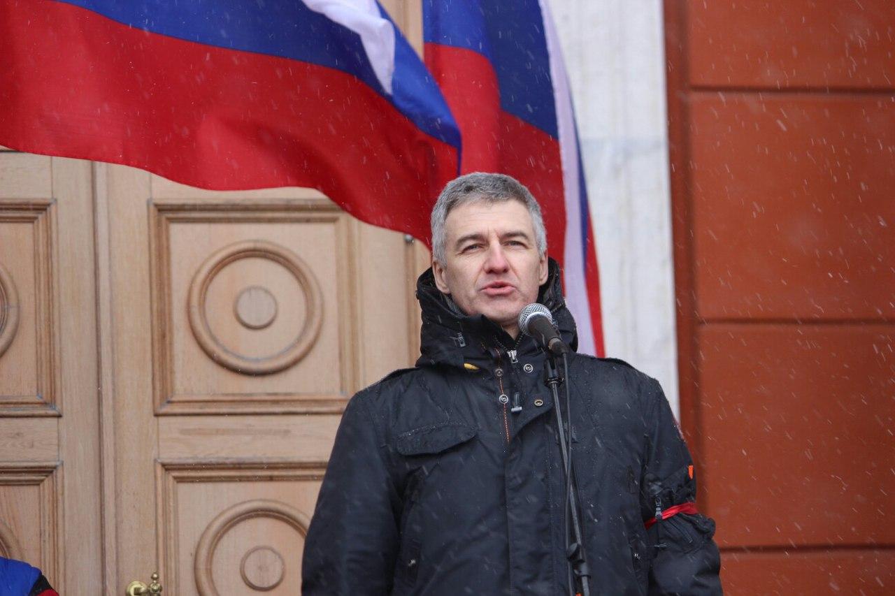 Врио главы Карелии Артур Парфенчиков. Фото: Сергей Мятухин