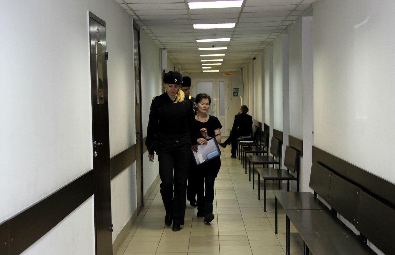 Елена Решетова в суде. Фото: Илона Радкевич