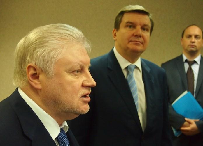 Сергей Миронов. Фото: Валерий Поташов