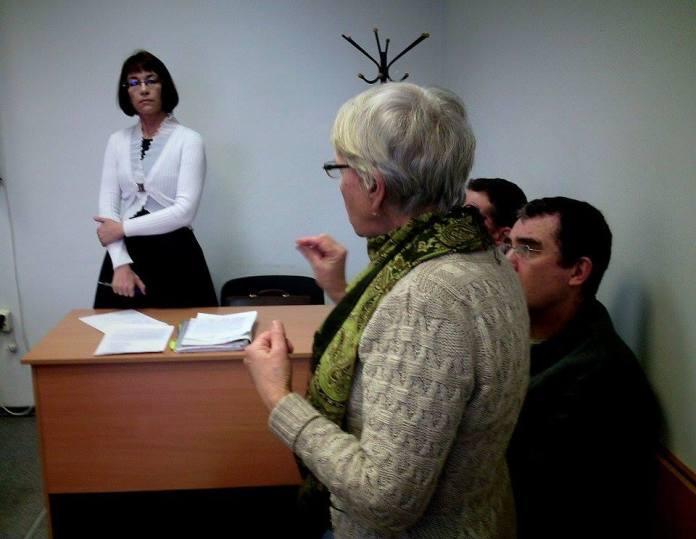 Во время судебного заседания. Фото: Валерий Поташов