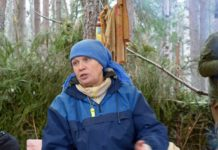 Одна из самых активных защитников Сунского бора Татьяна Ромахина. Фото: Алексей Владимиров