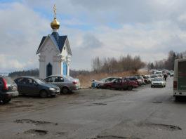 Дорога на Сулажгорское кладбище в Петрозаводске. Фото: Черника