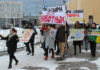 Карельские зоозащитники провели акцию за цирк без животных в Петрозаводске. Фото: Валерий Поташов