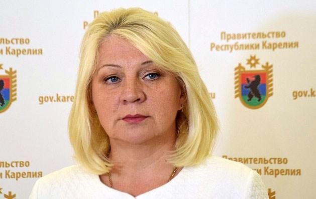Бывшая вице-премьер Карелии по социальным вопросам Валентина Улич. Фото: gov.karelia.ru