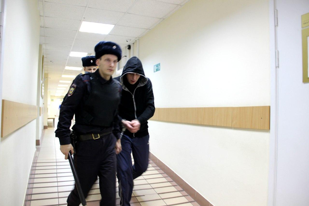 Вадим Виноградов в суде. Фото: Илона Радкевич