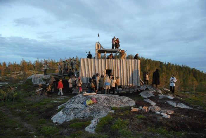 """Лагерь """"Золото Белого моря"""". Фото: vk.com"""