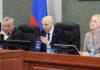 На заседании парламента Карелии. Фото: Сергей Мятухин