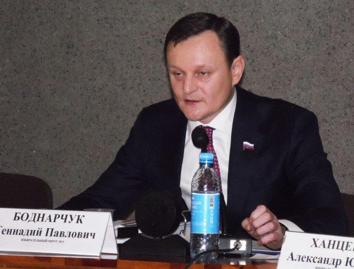 Председатель горсовета Петрозаводска Геннадий Боднарчук. Фото: Алексей Владимиров