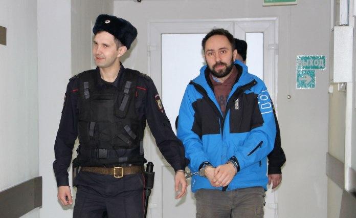 Бывший вице-спикер карельского парламента Алексей Гаврилов в суде. Фото: Илона Радкевич