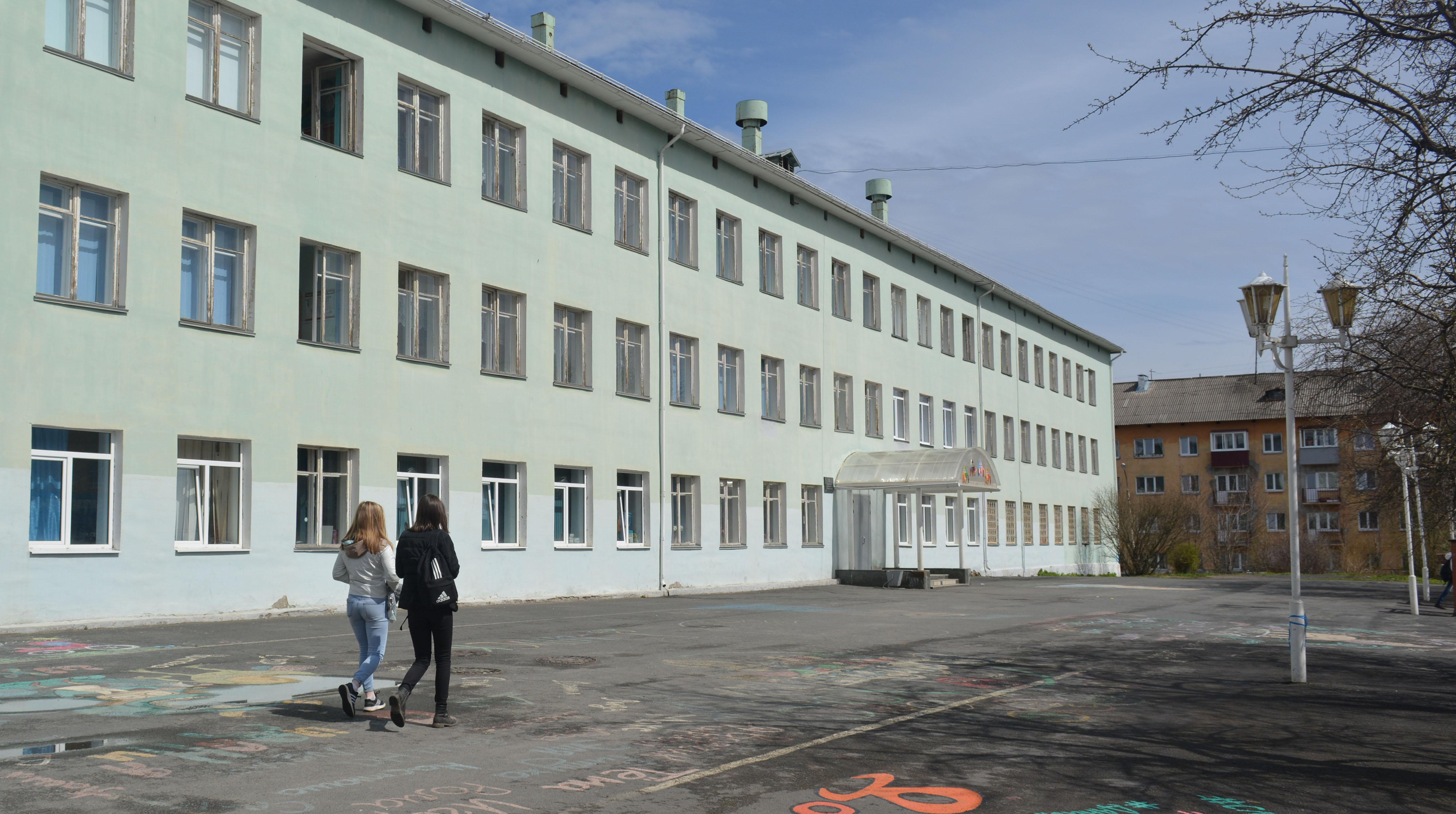 Школа N6 считается одной из самых престижных в Кондопоге. Фото: Алексей Владимиров