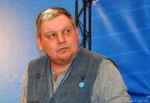 Блогер, журналист и писатель Вадим Штепа. Фото Георгия Саркисяна со страницы Вадима Штепы в Facebook