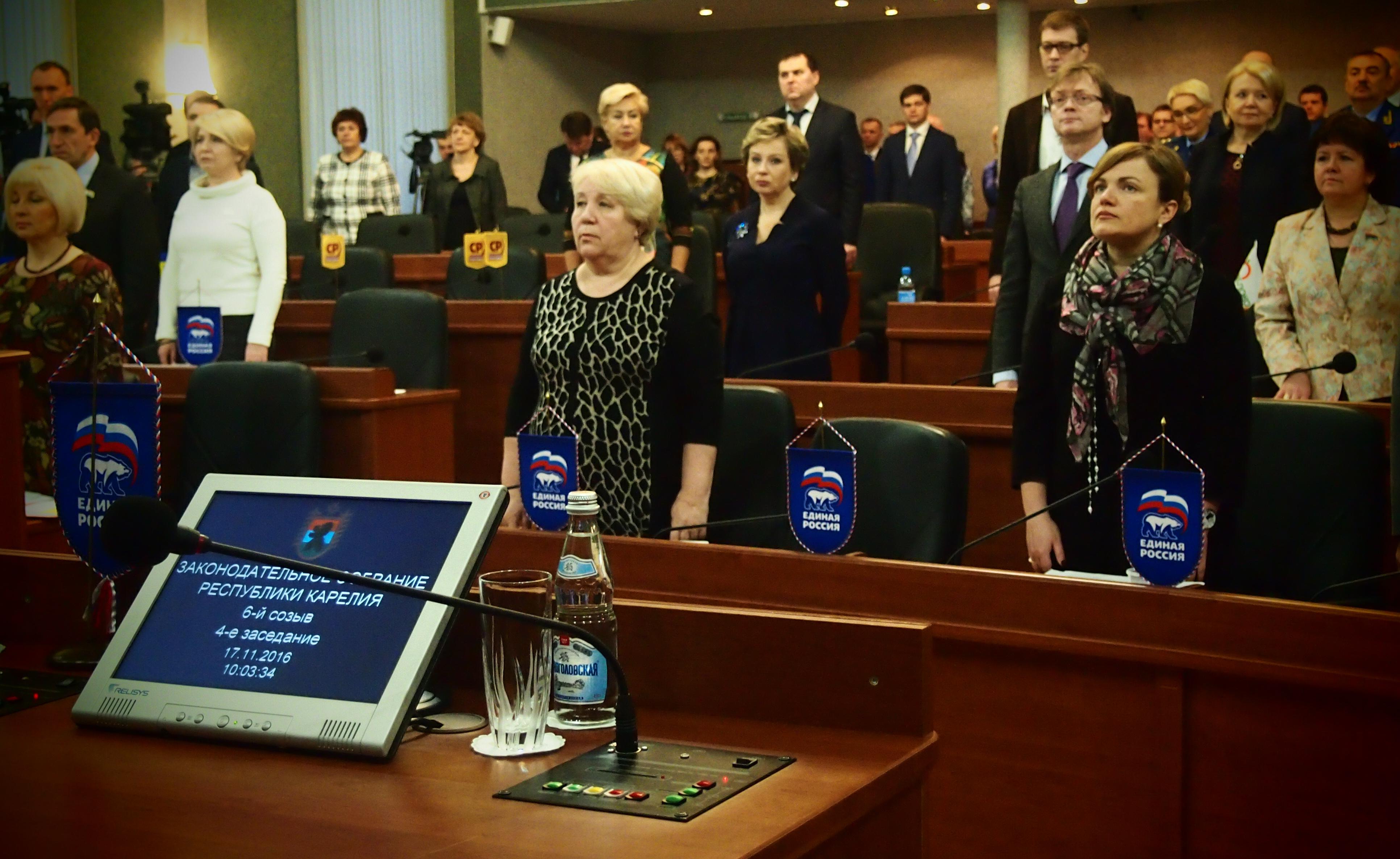 """В новом парламенте Карелии """"единороссы"""" владеют конституционным большинством. Фото: Валерий Поташов"""