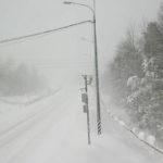 """Так выглядит сейчас участок трассы """"Кола"""" в Беломорском районе Карелии. Фото с камеры видеонаблюдения"""