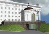Такое культовое сооружение планируется возвести на площади Кирова в Петрозаводске, по соседству с Музыкальным театром. Фото: vk.com