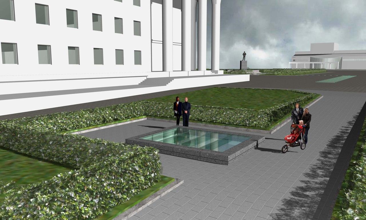 """На этапе археологических раскопок авторы проекта даже хотят открыть """"музейные окна"""". Фото: vk.com"""