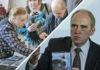 Во время презентации диска с книгами памяти, которые составил арестованный историк Юрий Дмитриев. Коллаж: Черника