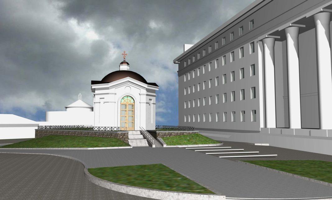Такой видится часовня авторам проекта. Фото: vk.com