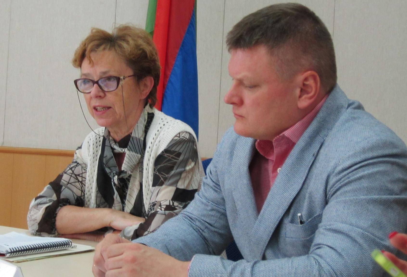 На слушаниях в Общественной палате Карелии. Фото: Татьяна Смирнова