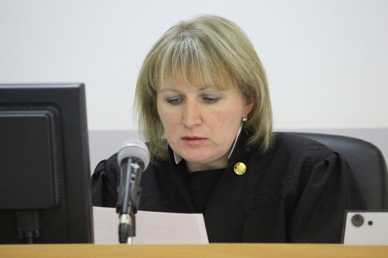 Судья Наталья Маненок. Фото: Сергей Мятухин
