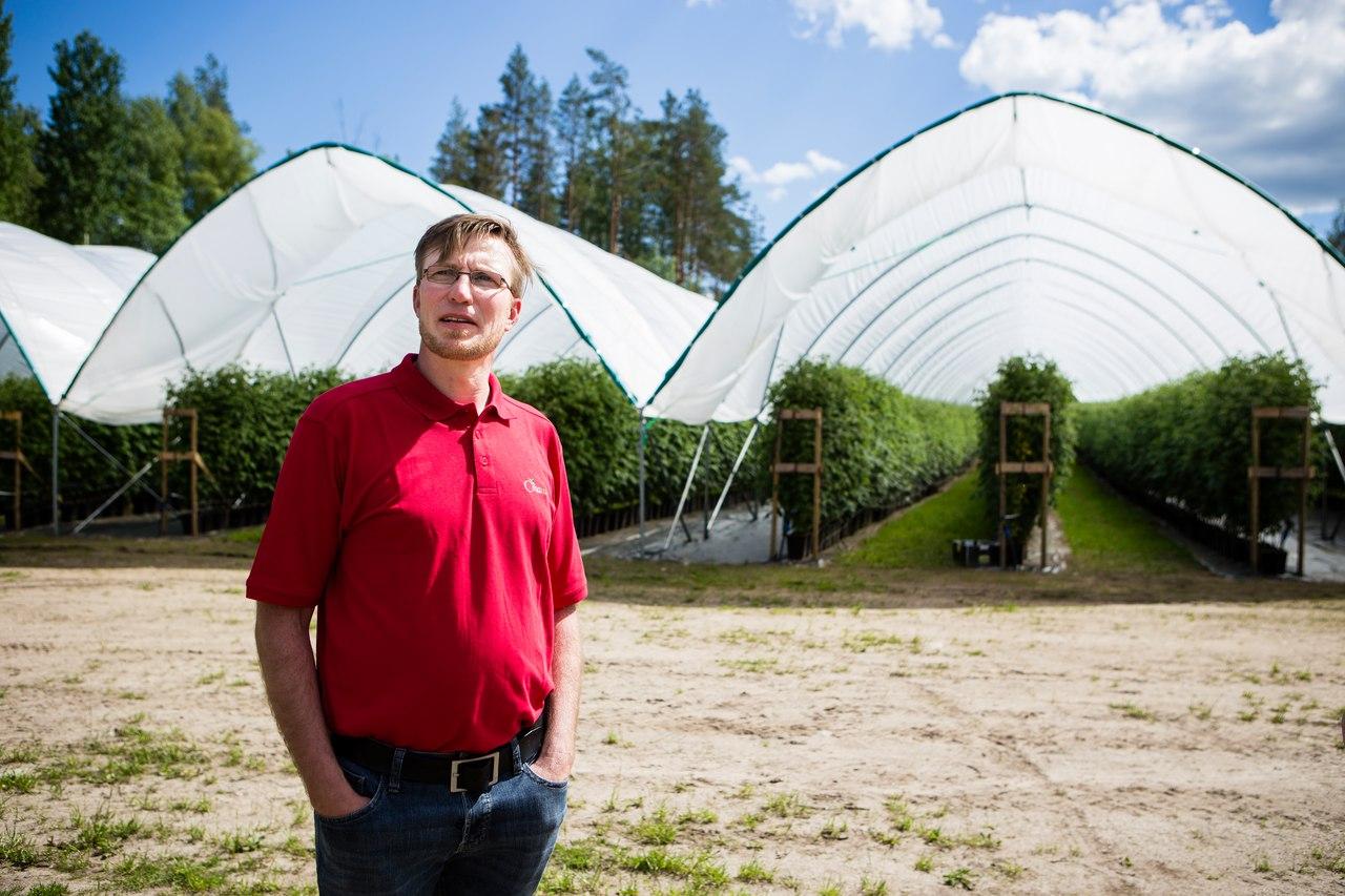 Финский фермер Микко Руоттинен. Фото из личного архива