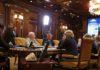 На селекторном совещании в правительстве РФ по подготовке школ к учебному году. Фото: правительство.рф