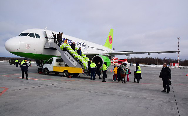 """Авиакомпания """"Сибирь"""" осуществляет рейсы из Петрозаводска в Москву. Фото: gov.karelia.ru"""