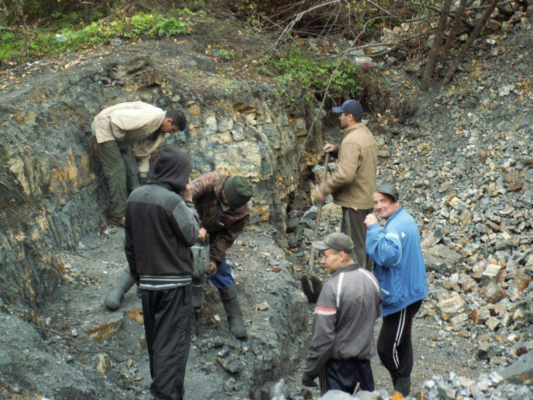 В Заонежье процветает незаконная добыча шунгита. Фото: Татьяна Смирнова